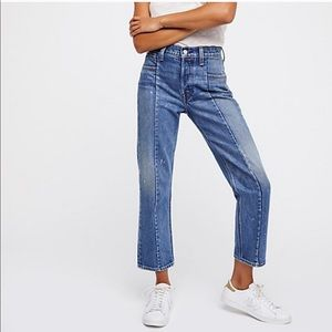 Levi's Altered Straight Leg Jeans with Seams